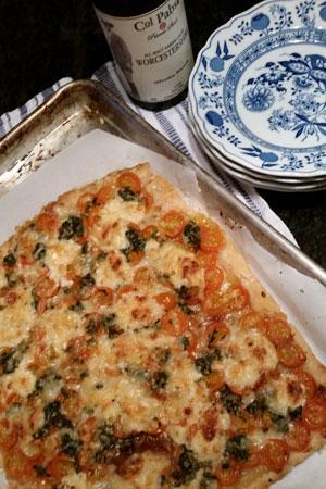 Colonel Pabst Tomato Tart Recipe
